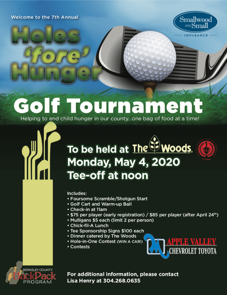 Holes 'for' Hunger 2020 Golf Tournament